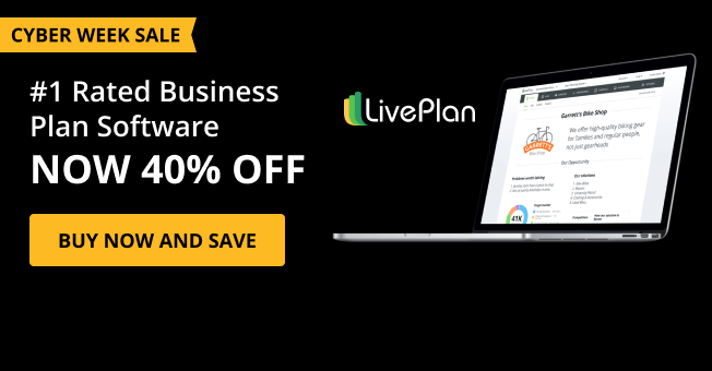 Top rated business plan software 40% for cyber week 2020