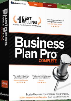 business plan pro box