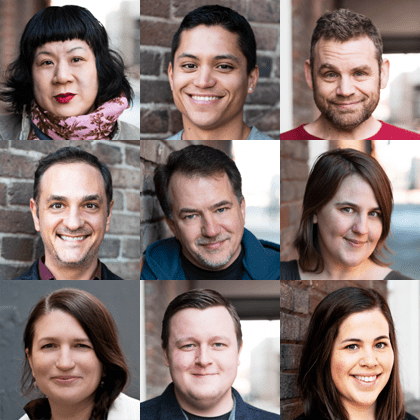 Customer advocacy headshots
