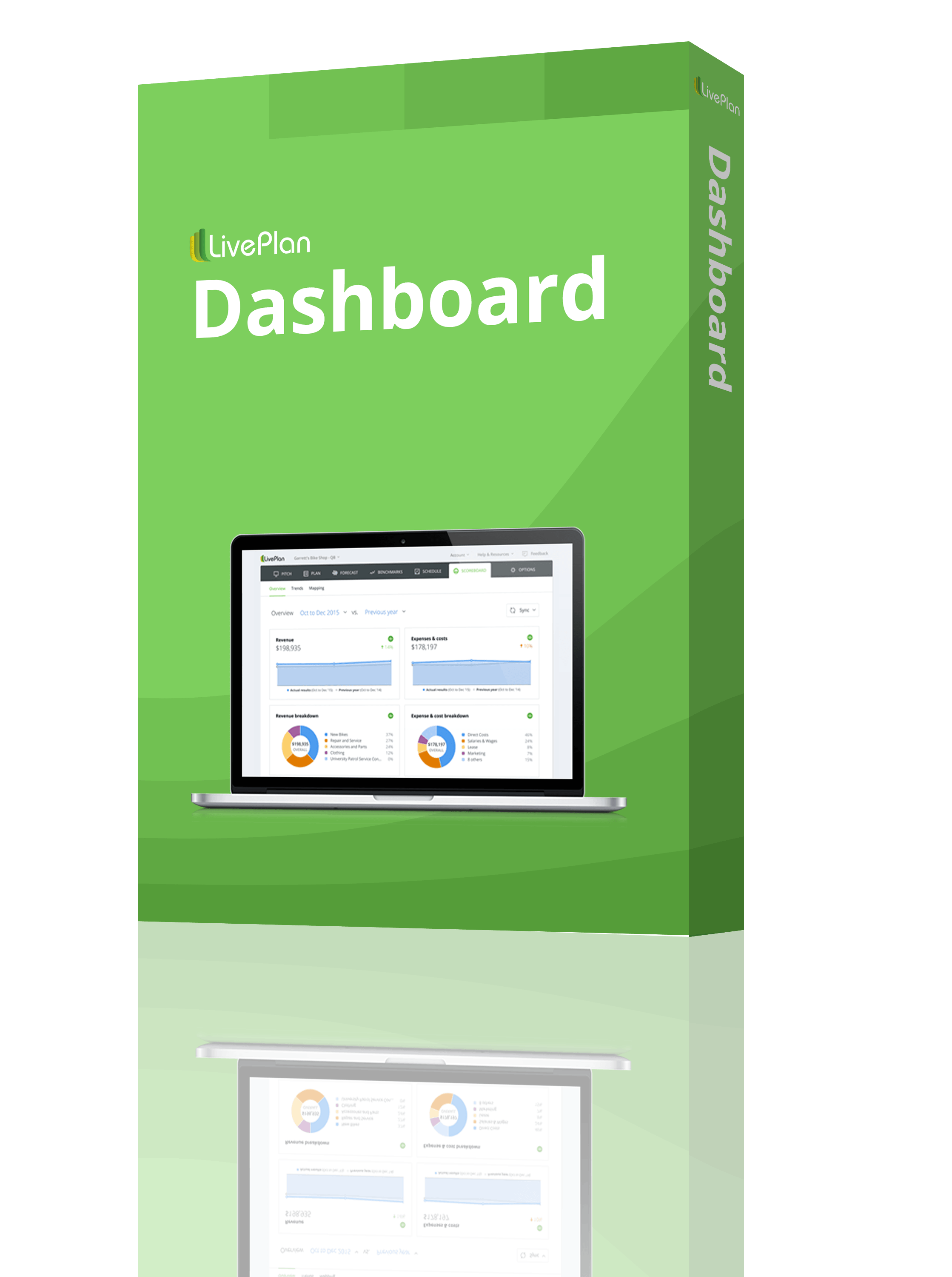 LivePlan Dashboard