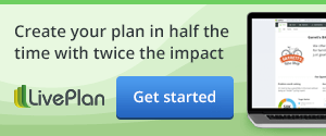 LivePlan CTA广告