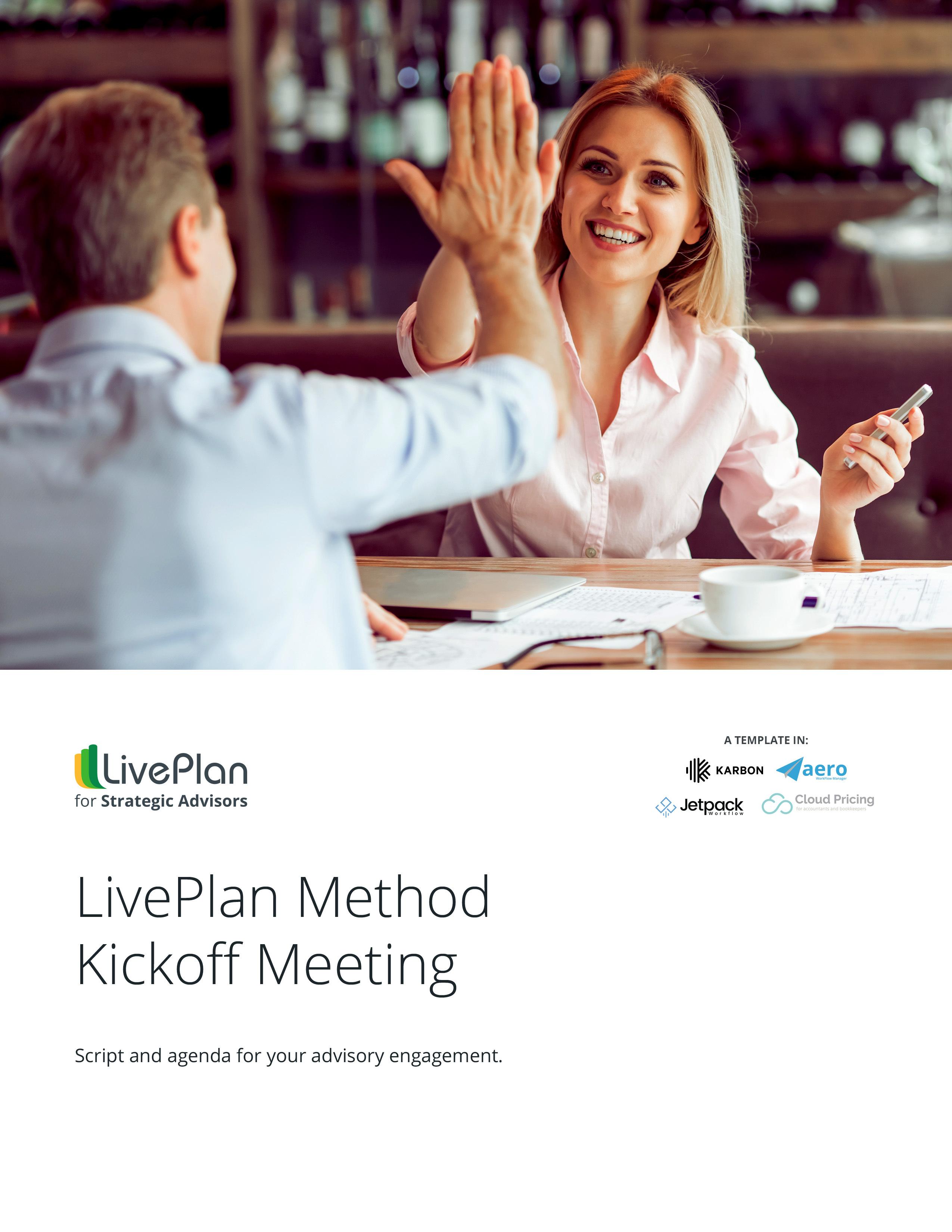 Kickoff meeting cover