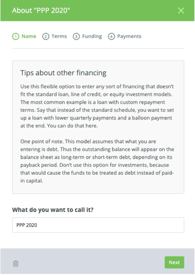LivePlan-enter-loan